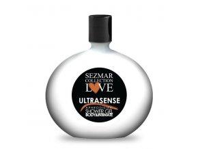 Prírodný intímny sprchový gél s afrodiziakami ultrasense