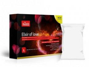 Elixir of love 4 sáčky (á 5.28mg) rozpustné afrodiziakum pre mužov i ženy