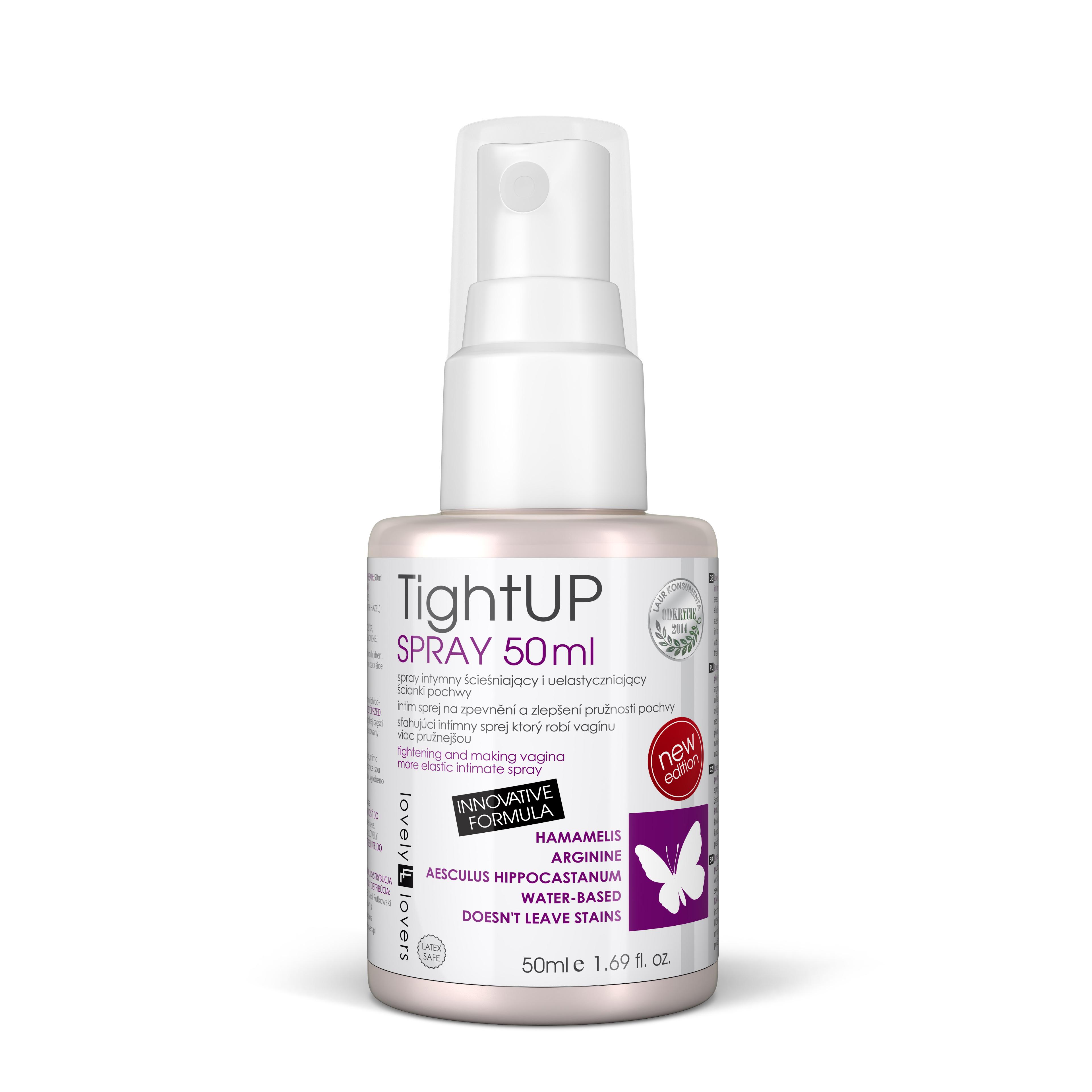 Lovely Lovers Tight UP Spray 50ml zlepšuje pružnosť a pevnosť vagíny