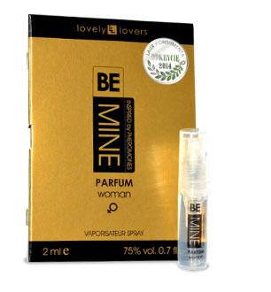 Lovely Lovers Parfém s feromónmi BeMINE 2ml pre ženy