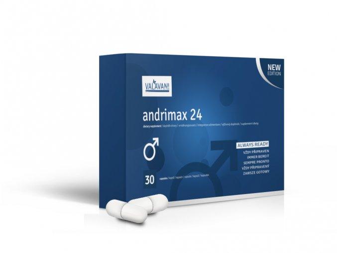 VALAVANI Andrimax 24 - AKCIA 20 + 10 kapsúl na podporu erekcie Varianta produktu: 1 balení 30 kapslí