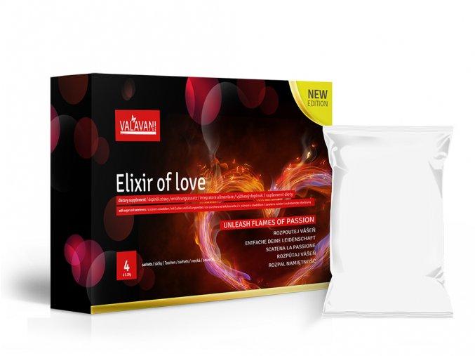 VALAVANI Elixir of love 4 sáčky (á 5.28mg) rozpustné afrodiziakum pre mužov i ženy Varianta produktu: 1 balenie 4 sáčky (á5,28g)