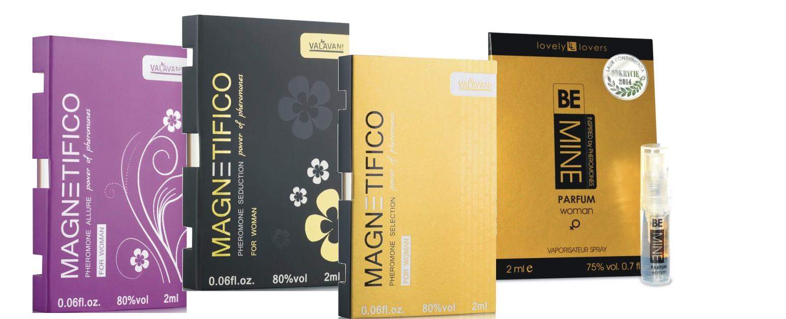 Sada vzoriek parfémov MAGNETIFICO pre ženy