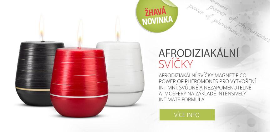 Afrodiziakální svíčky MAGNETIFICO - power of pheromones