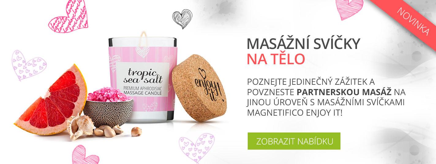 Masážní svíčky MAGNETIFICO Enjoy it!