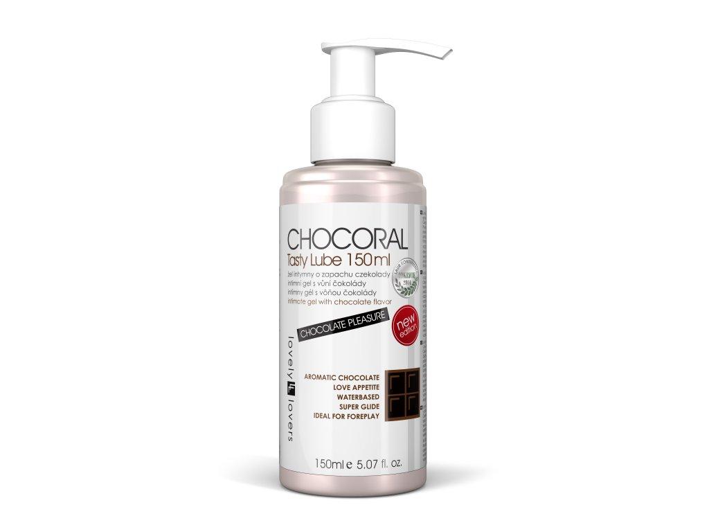 chocoral tasty lube 150ml lubrikační gel s aroma čokolády