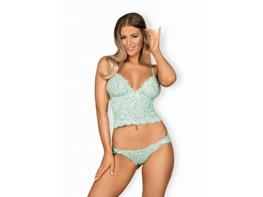 Sexy set Delicanta top & panties - Obsessive