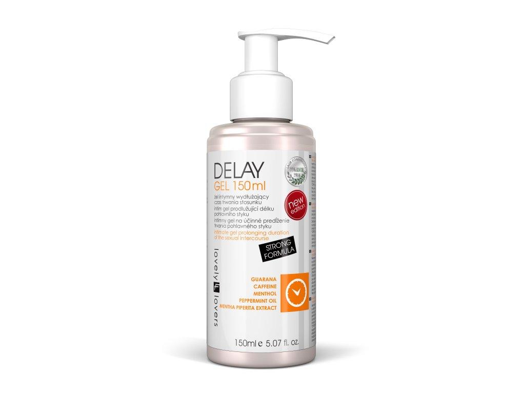 Delay gel 150ml lubrikační gel pro delší sexuální výdrž