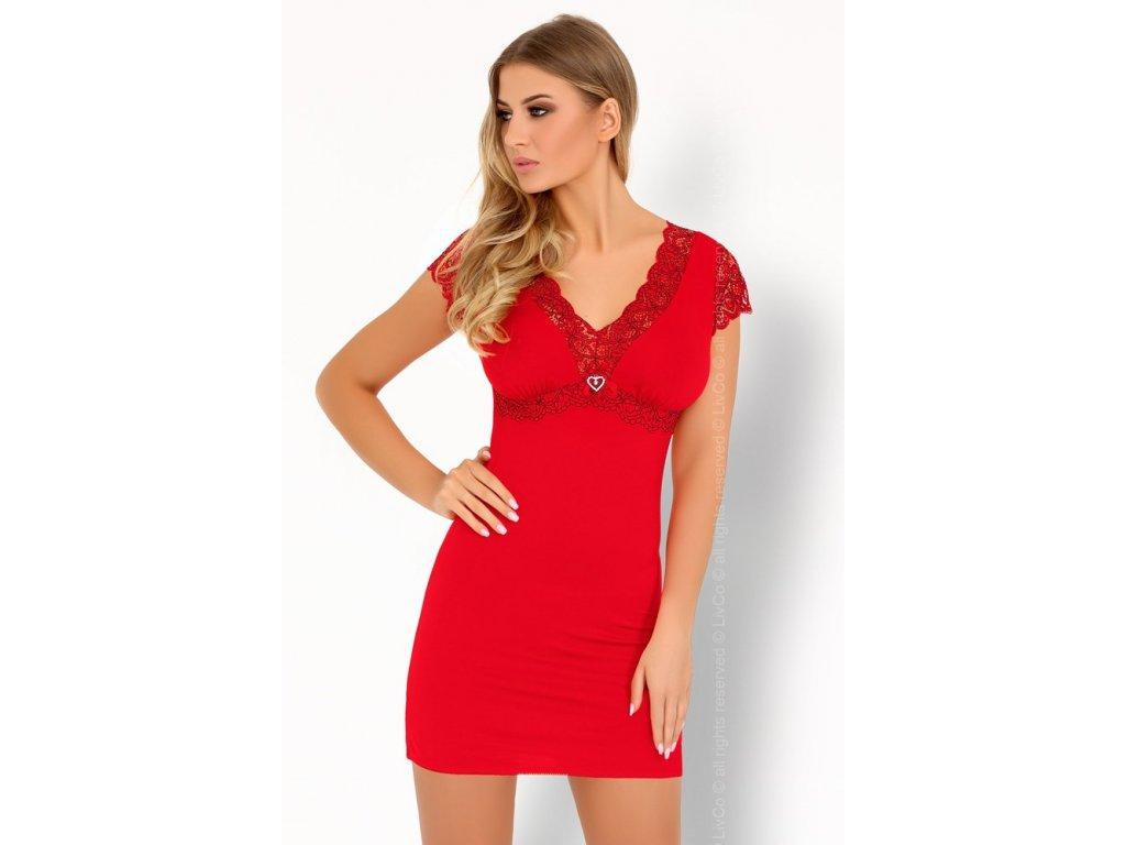 Sexy košilka Sive red - LivCo Corsetti