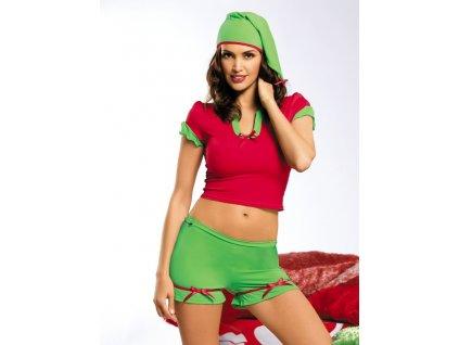 Vánoční kostým Elf - Obsessive