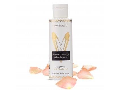 Prémiový afrodiziakální masážní olej Jasmine 2