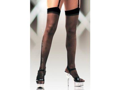 Dámské punčochy na podvazkový pás Stockings 0005 - SoftLine