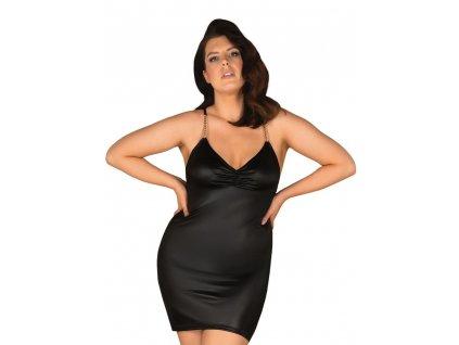 Úchvatné šaty Yollanda dress 2XL/3XL - Obsessive