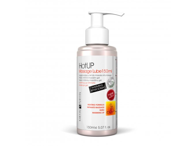 hot up massage lube 150ml