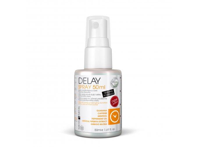 Delay spray 50ml intimní sprej pro delší sexuální výdrž