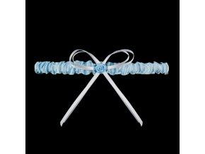 Podvazek PW-16 modrá - Julimex