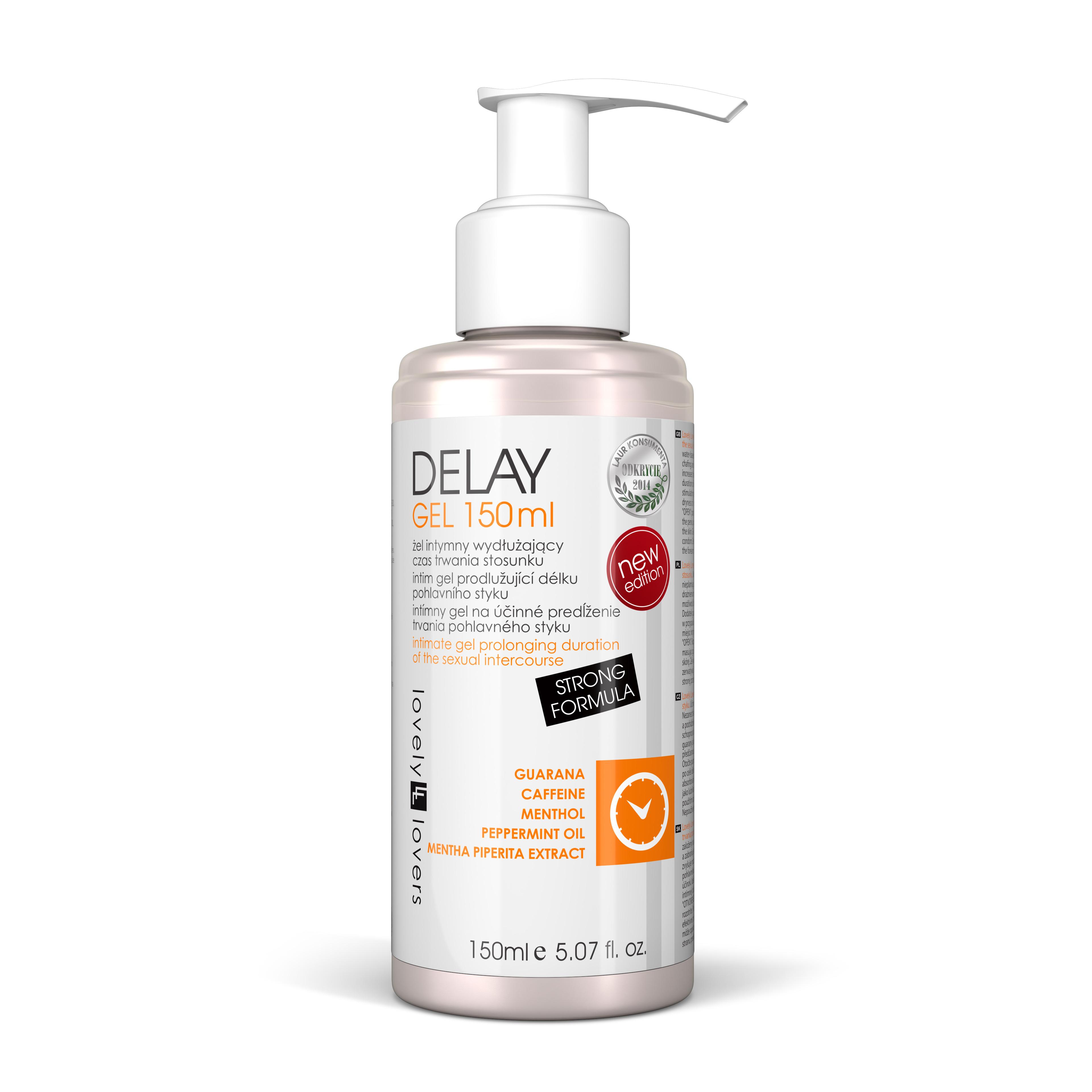 DELAY gel na oddálení ejakulace 150ml