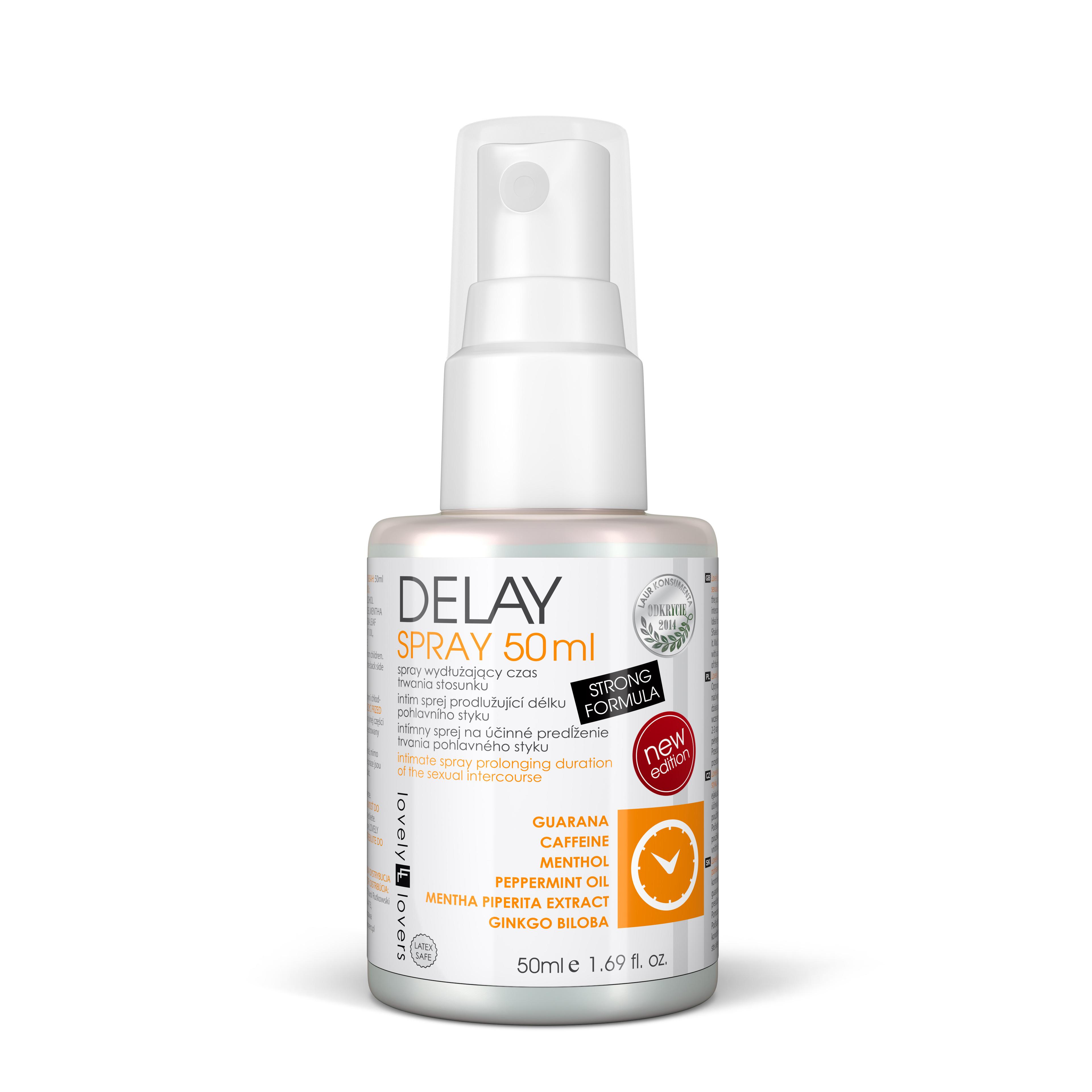 Lovely Lovers DELAY spray 50ml na oddálení ejakulace