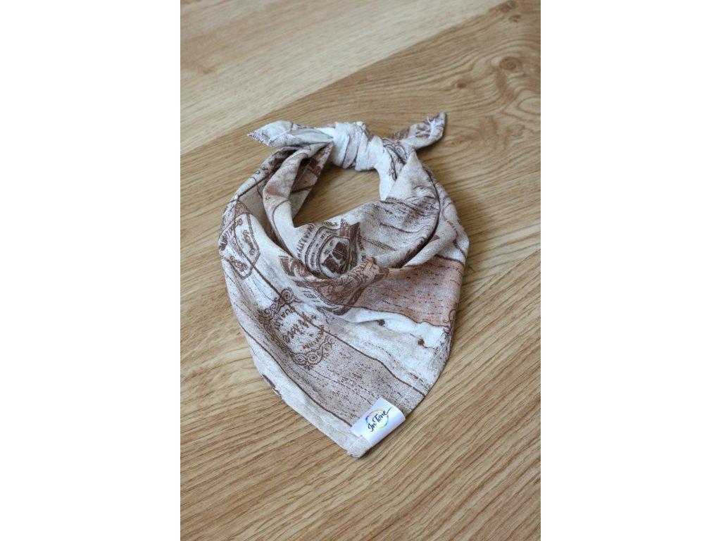 Rum - Šátek pro psa