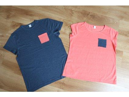 Pánské tričko s kapsičkou
