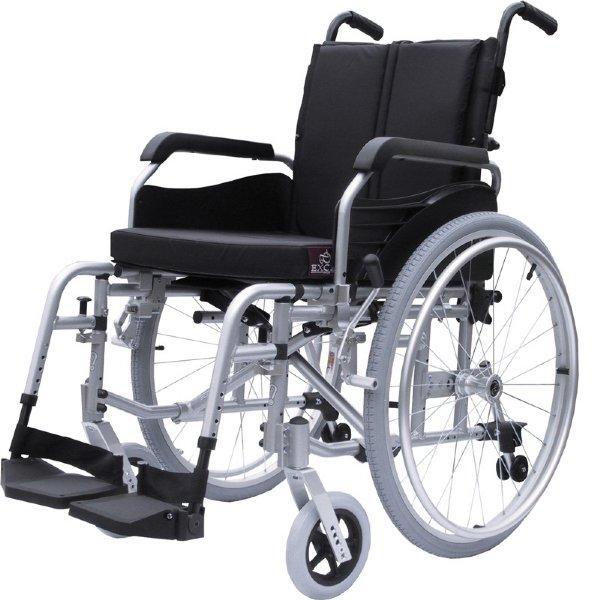 Invalidní vozík mechanický odlehčený Excel Alu Plus Šíře sedu: 45 cm