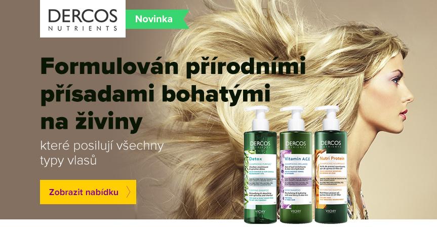 NOVINKA! Dercos Nutrients pro silné vlasy