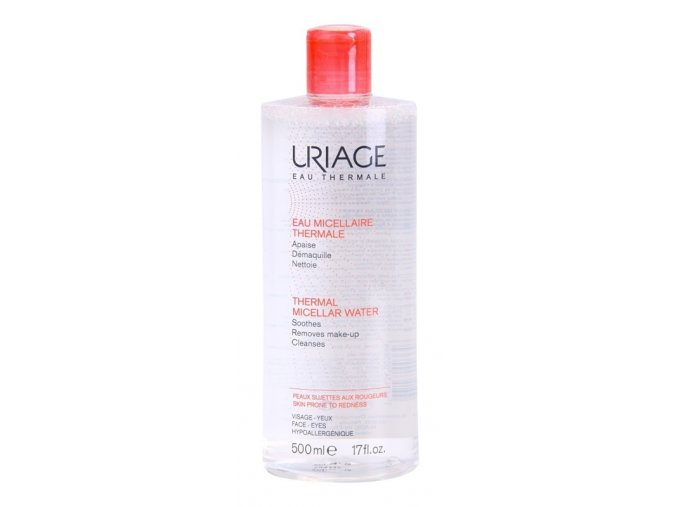uriage eau micellaire thermale micelarni cistici voda pro citlivou plet se sklonem ke zcervenani 250