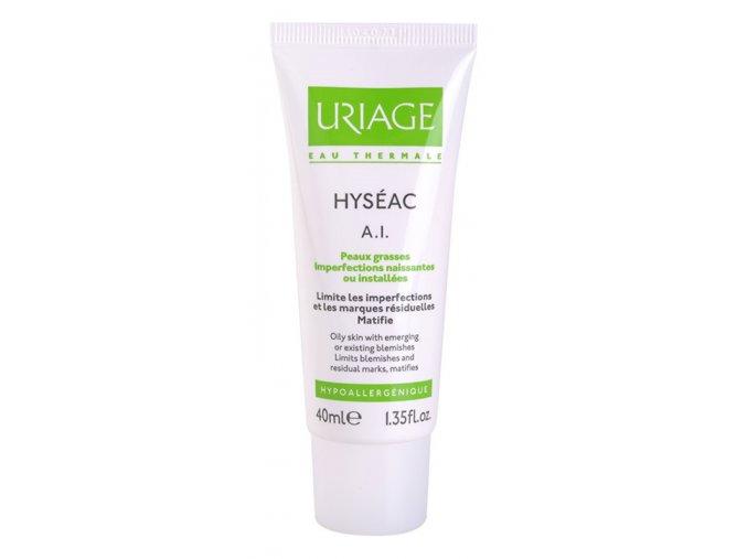 uriage hyseac a i krem pro zmirneni zanetlivych projevu akne 16