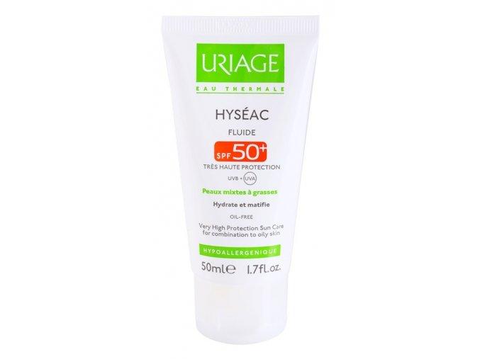 uriage hyseac matujici fluid s hydratacnim ucinkem spf 50 14