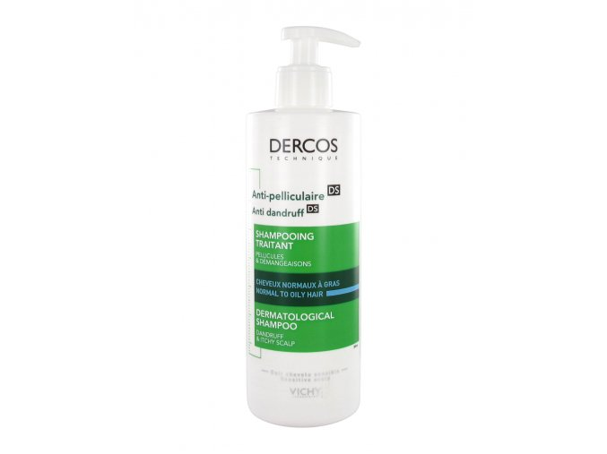 vichy dercos anti dandruff sampon proti lupum pro normalni az mastne vlasy 390ml NOVÝ