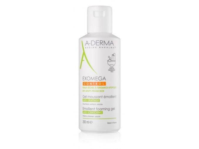 A-derma Exomega Control zvláčňující pěnivý gel