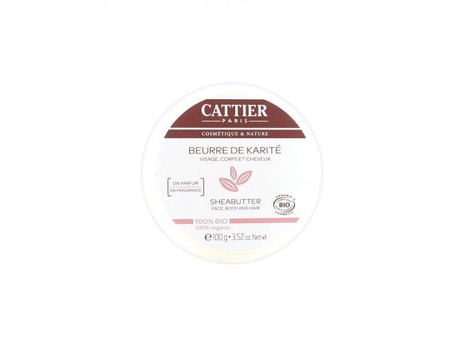 cattier shea butter 100mg