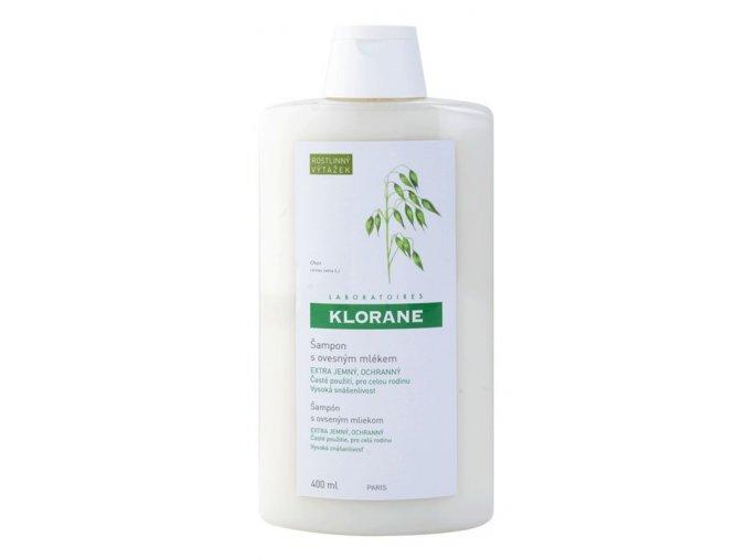 klorane oat milk sampon pro caste myti vlasu 400ml
