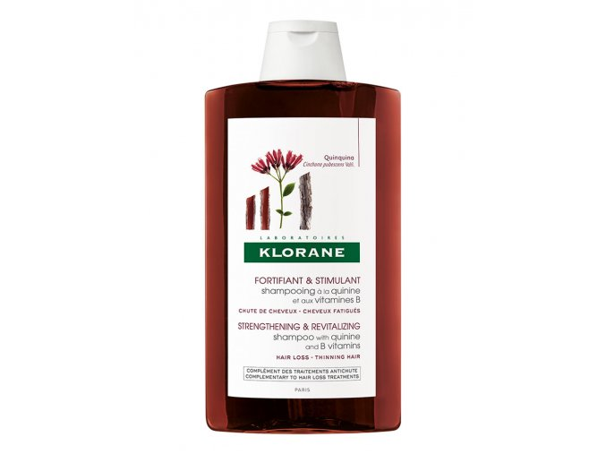klorane chinin posilujici sampon pro oslabene vlasy 400ml