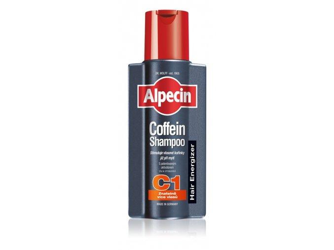 alpecin hair energizer coffeine shampoo c1 kofeinovy sampon pro muze stimulujici rust vlasu 31