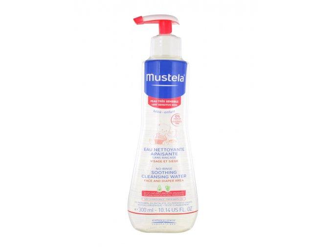 mustela soothing cleansing water 300ml