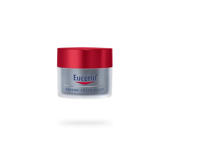 69702 PS EUCERIN INT Volume Filler product header night cream