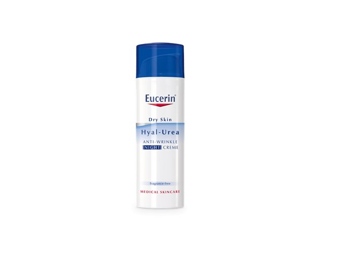 63804 PS EUCERIN INT Hyal Urea product header Night Cream