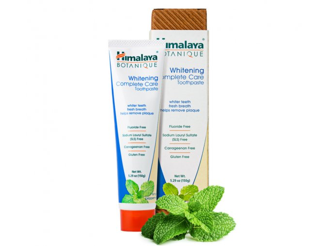 Himalaya herbal pepermint whitening