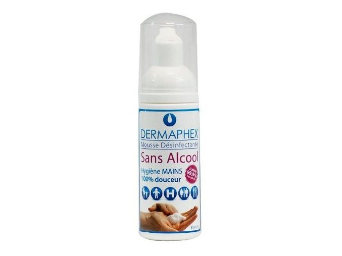 dermaphex mousse desinfectante sans alcool P 983283 9740033 1