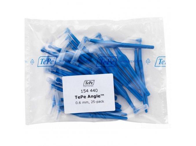 tepe angle 0,6 mezizubni kartacky 25ks modre 800x800