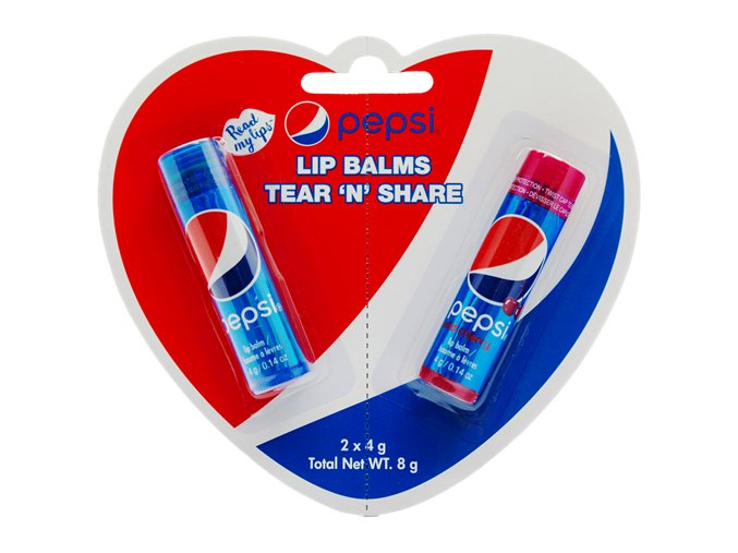 Pepsi Tear N Share Lip Balms duo