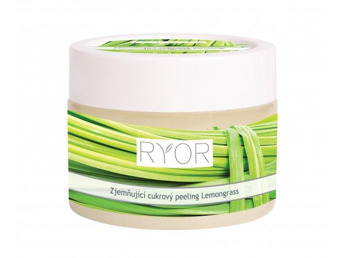 22013 Zjemňující cukrový peeling lemongrass