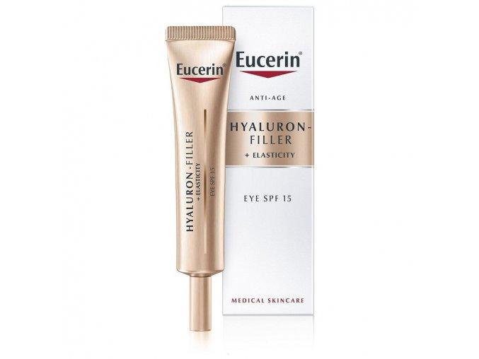 Hyaluron filler elasticity oční