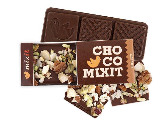 Mini čokoláda Mléčná s ořechy