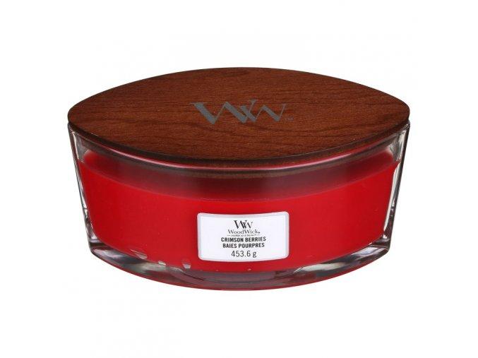 woodwick 76080e crimson berries ellipse