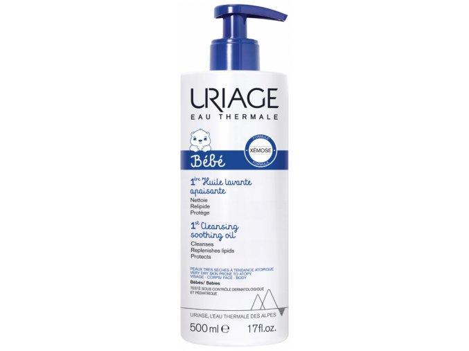 uriage baby Xemose zklidňující olej 500ml