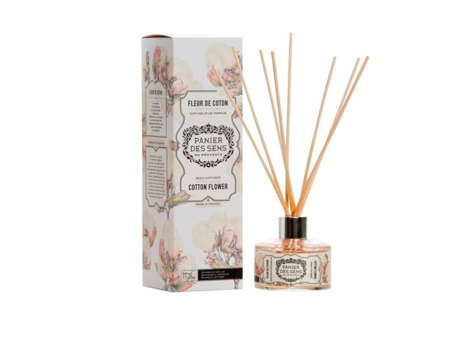 reed diffuser cotton flower