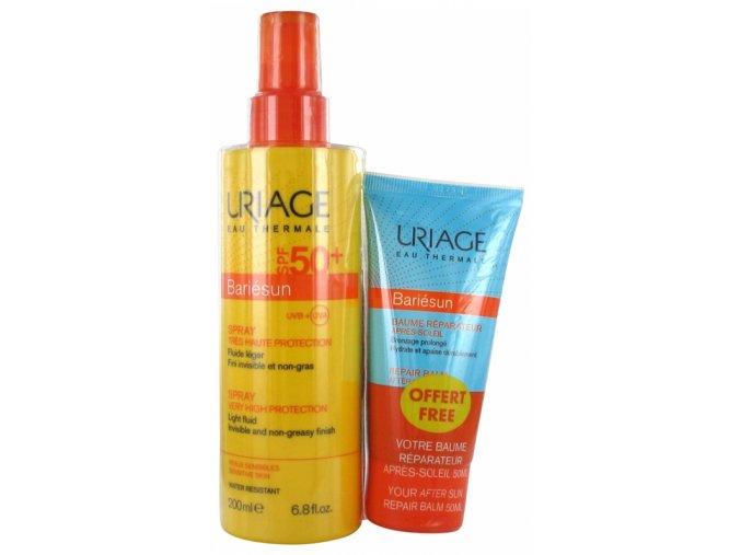 uriage bariesun spray 50+ 200ml+balzám po opalování 50ml