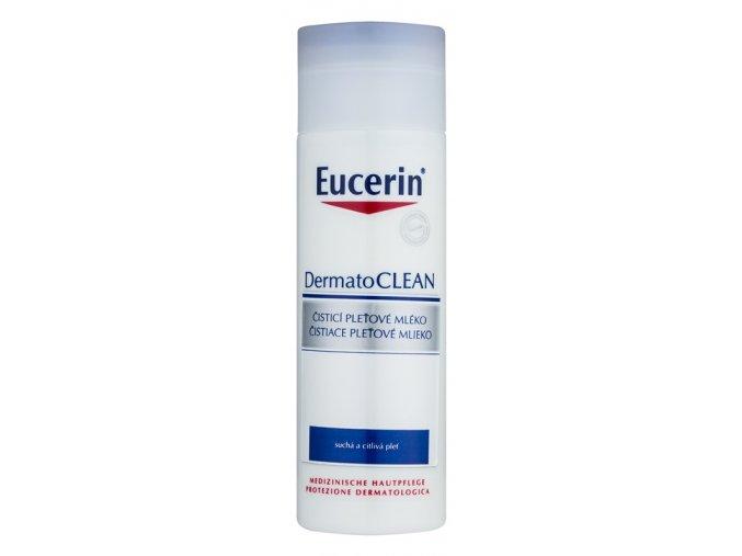 eucerin dermatoclean cistici pletove mleko pro citlivou a suchou plet 25